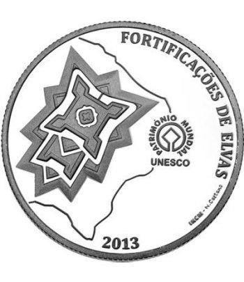 Portugal 2.5 Euros 2013 UNESCO Fortificación de Elvas.  - 2