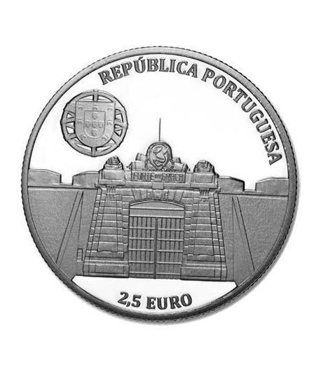 Portugal 2.5 Euros 2013 UNESCO Fortificación de Elvas.  - 1