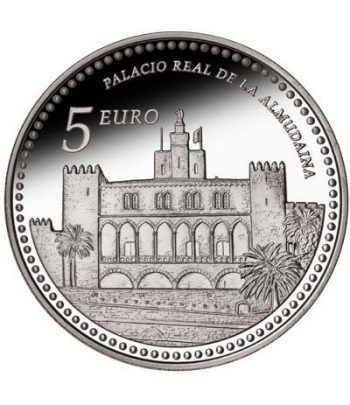 Moneda 2013 Patrimonio Nacional. Palacio de la Almudaina. 5 euro  - 1