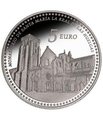 Moneda 2013 Patrimonio Nacional. Monasterio Las Huelgas. 5 euros  - 1
