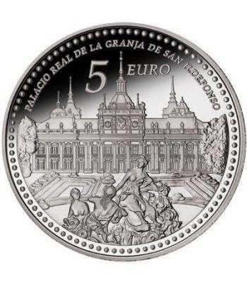 Moneda 2013 Patrimonio Nacional. Granja San Ildefonso. 5 euros.  - 1