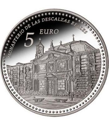 Moneda 2013 Patrimonio Nacional. Monasterio Descalzas. 5 euros.  - 1