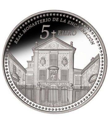 Moneda 2013 Patrimonio Nacional. Monasterio Encarnación. 5 euros  - 1