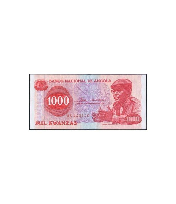 Angola 1.000 Kwanzas 1976. EBC.  - 1
