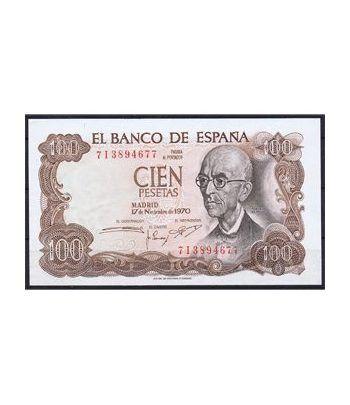 (1970/11/17) Madrid. 100 Pesetas. SC. Pareja.  - 4