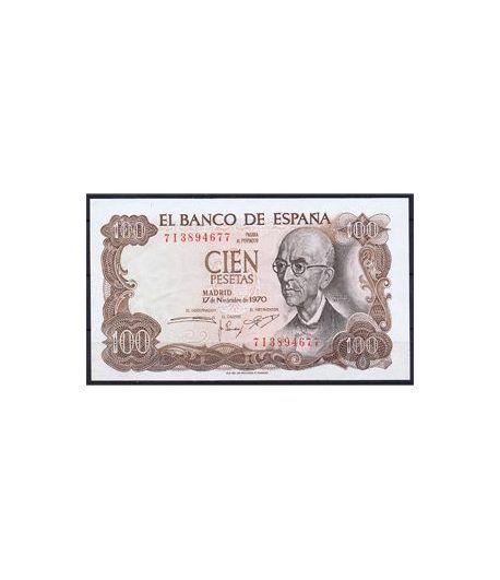 (1970/11/17) Madrid. 100 Pesetas. SC. Pareja.  - 1