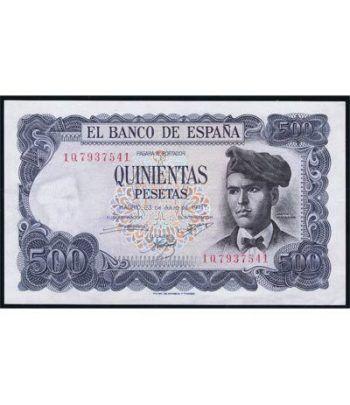 (1971/07/23) Madrid. 500 Pesetas. SC. Pareja.  - 4