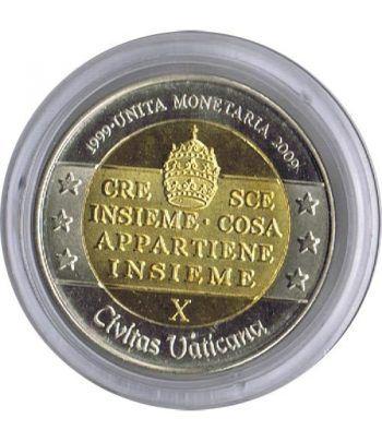 Euro prueba Vaticano 2 euros 2009 Unidad Monetaria. Proof.  - 1
