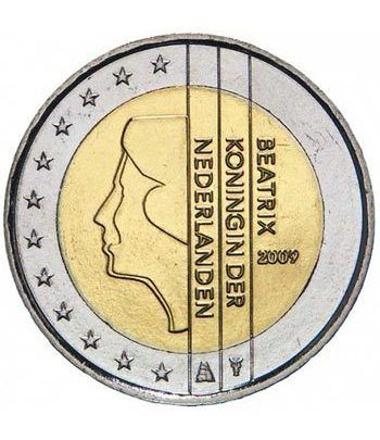 monedas euro serie Holanda 2009 (2 euros) Proof.  - 2