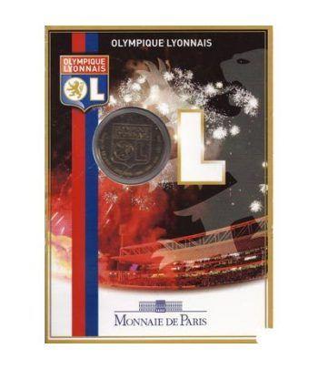 Francia 1 1/2€ 2009 Olympique Lyonnais.  - 1