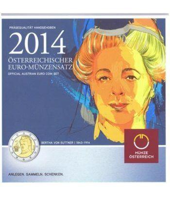 Cartera oficial euroset Austria 2014  - 1