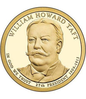 E.E.U.U. 1$ (2013) 27º Presidencial William Howard Taft (2cecas)  - 2