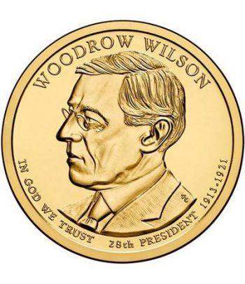 E.E.U.U. 1$ (2013) 28º Presidencial Woodrow Wilson (2cecas)  - 2