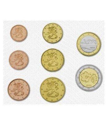 monedas euro serie Finlandia 2001  - 2