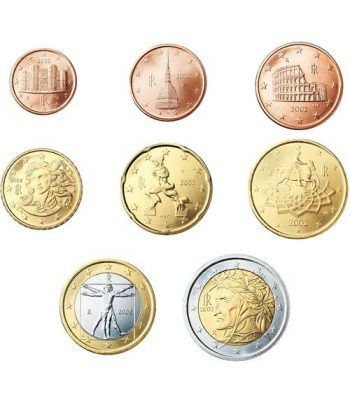 monedas euro serie Italia 2006  - 2
