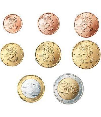 monedas euro serie Finlandia 2005  - 2