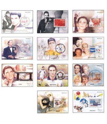 3756/66 Exposición Mundial de Filatelia ESPAÑA'2000  - 2