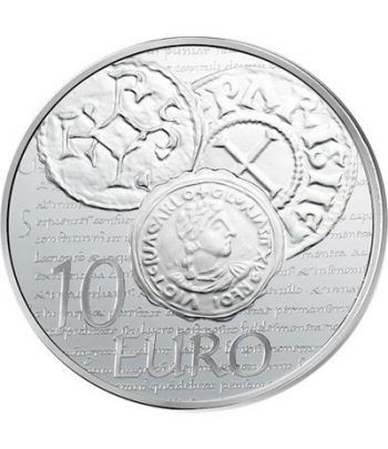Francia 10 € 2014 La Sembradora. Plata.  - 1