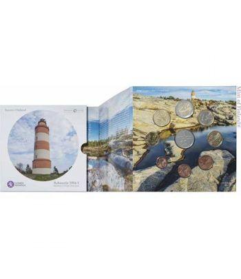 Cartera oficial euroset Finlandia 2014. Faro.  - 2
