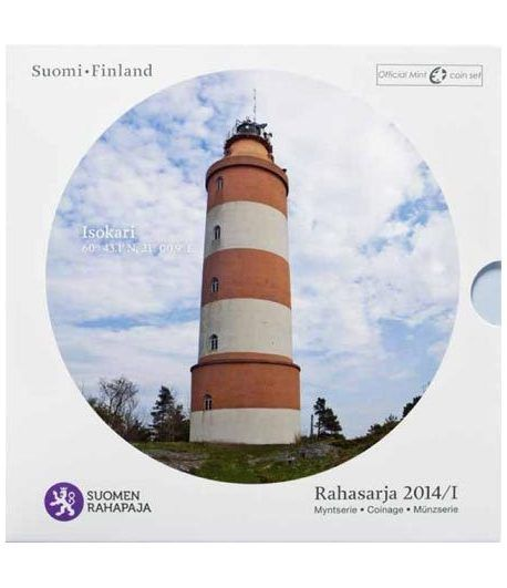 Cartera oficial euroset Finlandia 2014. Faro.  - 1