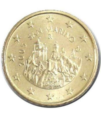 monedas euro serie San Marino 2005 (moneda de 50 centimos)  - 2
