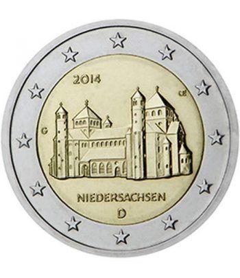 moneda conmemorativa 2 euros Alemania 2014. 5 monedas  - 2