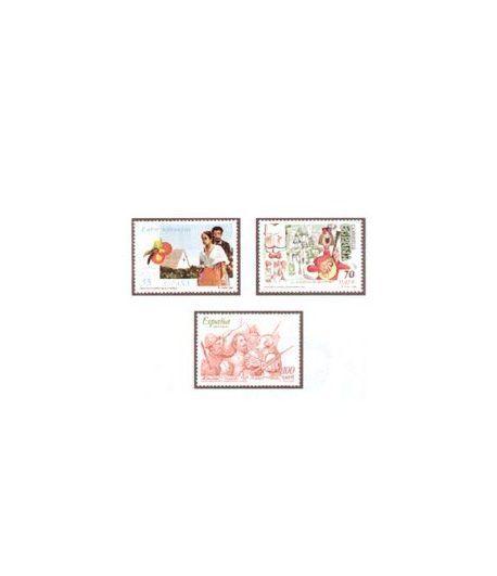 3772/74 Literatura española. Personajes de ficción  - 2