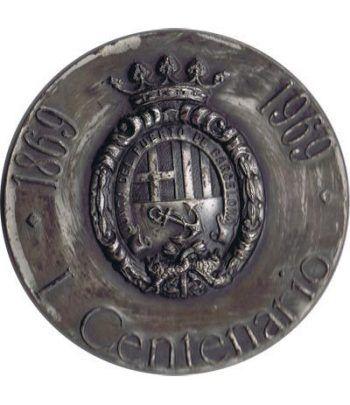 Medalla Barcelona Puerto de Barcelona. Plata.  - 1