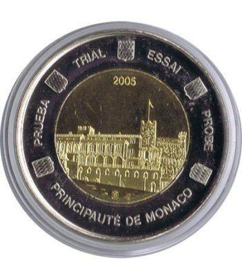 Euro prueba Monaco 2 euros 2005.  - 1
