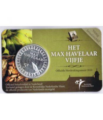 Holanda 5 Euros 2010 150º Años Max Havelaar  - 1
