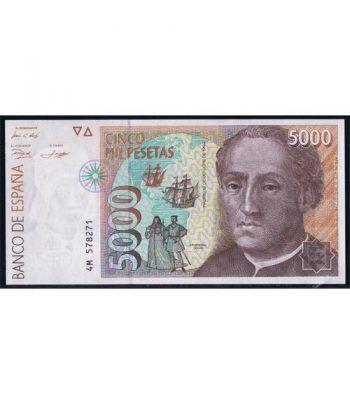 (1992/10/12) Madrid. 5000 Pesetas. SC. Pareja.  - 4