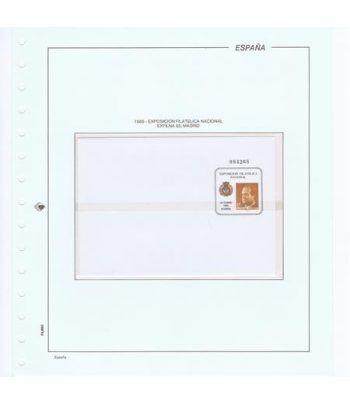 Colección Sobres Entero Postales de España 1985/1990.  - 1