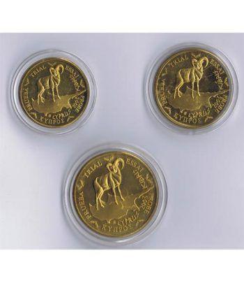 Euro prueba Chipre 10, 20 y 50 centimos de euro 2003  - 2