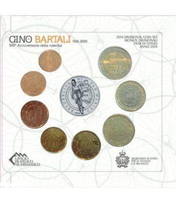 Cartera oficial euroset San Marino 2014 + 5€ (plata)  - 4