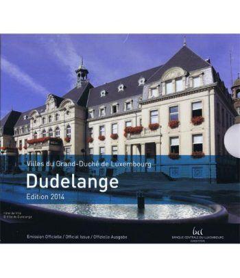 Cartera oficial euroset Luxemburgo 2014 (incluye 2€ conmemorat)  - 1