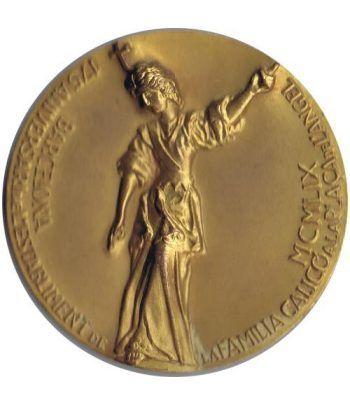 Medalla 175 Aniversario Numismática Calicó. Bronce.  - 1