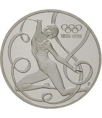 Moneda de plata 200 schillings Austria 1995 Gimnasia ritmica.  - 1