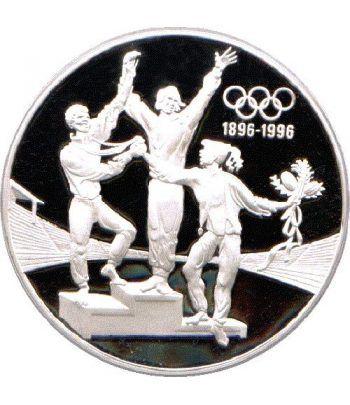 Moneda de plata 20 Dolares Australia 1993 Campeones Proof.  - 1