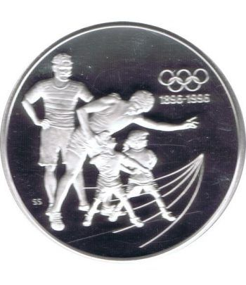 Moneda de plata 15 Dolares Canada 1992 Generaciones. Proof.  - 1