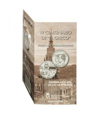 Cartera oficial euroset 30 Euros 2014 IV Centenario de El Greco.  - 1
