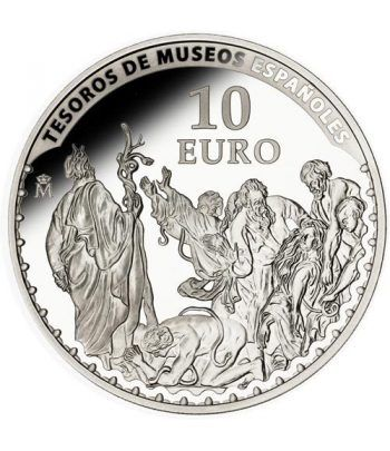 Moneda 2014 Tesoros Españoles. Van Dyck. 10 euros. Plata.  - 1