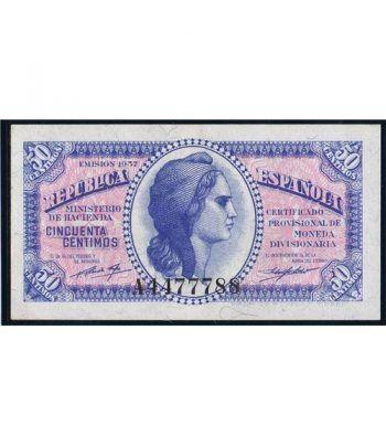 (1937) Republica Española 50 Céntimos. SC.  - 1