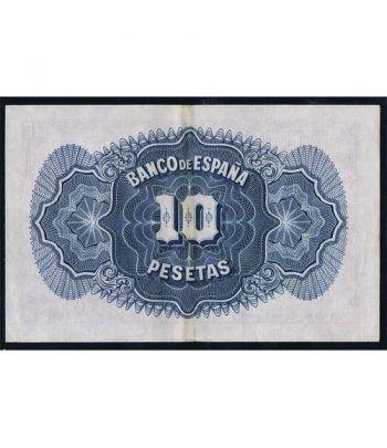 (1935) Banco de España. 10 Pesetas. EBC.  - 2