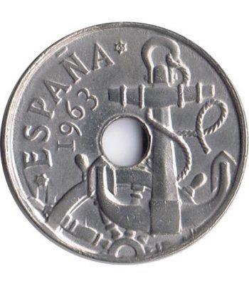Moneda de España 50 céntimos 1963 *19-65 Madrid SC  - 1
