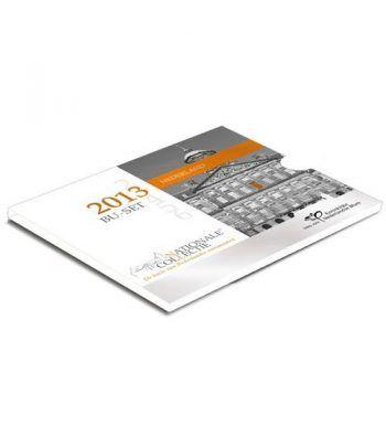 Cartera oficial euroset Holanda 2013.  - 1