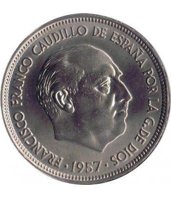 Moneda de España 50 Pesetas 1957 *19-67 Madrid SC  - 2
