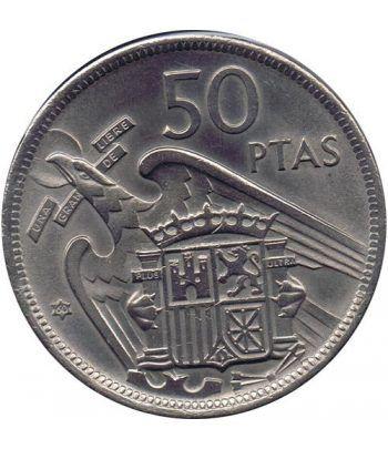 Moneda de España 50 Pesetas 1957 *19-60 Madrid SC  - 1
