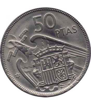 Moneda de España 50 Pesetas 1957 *19-59 Madrid SC  - 1