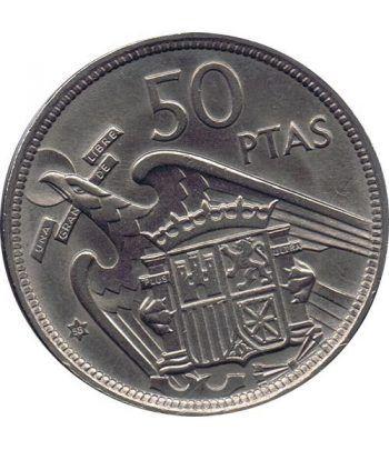 Moneda de España 50 Pesetas 1957 *19-58 Madrid SC  - 1