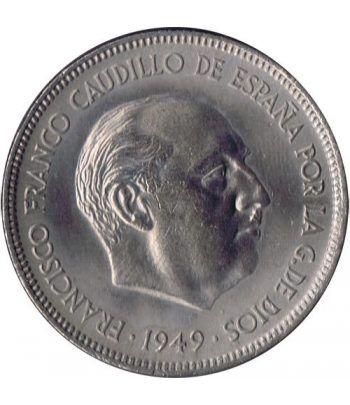 5 pesetas 1949 *19-50 Madrid. SC.  - 2